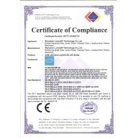 Shenzhen LoveLED Technology Co., Ltd. Certifications