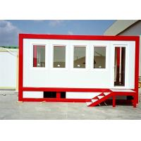 Wholesale Stackable Fireproof Worker Temporary Camp With Side Corridor from china suppliers
