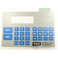 Buy cheap Customized High Quality Double Tail Embossed Tactile Membrane Switch from wholesalers