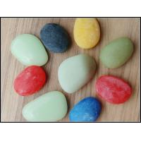 China Colorful Cobbles Pebbles on sale