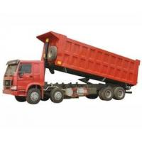 Wholesale popular type HOWO 8 by 4 dump truck / tipper truck / dumper lorry HW76 cab with one berth from china suppliers