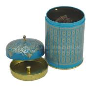 Wholesale Customized designed round tea tin box for packaging,storage,display from china suppliers