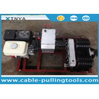 Wholesale 5T Honda Gasoline Cable Engine Powered Winch With Double Capstan For Anti Twist Wire Rope from china suppliers