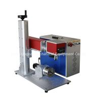 Wholesale Mini Type Fiber Laser Marking Machine for Logo Marking from china suppliers