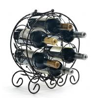 Wholesale wrought iron wine rack custom design shelf from china suppliers