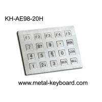 Wholesale Industrial Stainless steel Kiosk Keypad , Water proof , Dust proof Keyboard from china suppliers