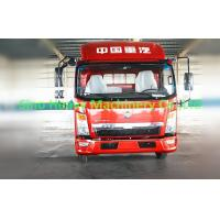 Wholesale 120HP HOWO Light Duty Commercial Trucks , Flatbed Cargo Truck 4X2 , Color Can Be Selected from china suppliers