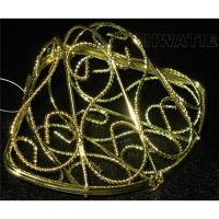 Wholesale WIRE CRAFT-A SHELL-SHAPED BOX IN GOLD PLATED, OPENABLE HALF TO HALF from china suppliers