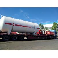 Wholesale 25 Tons Lp Gas Storage Tanks , Filling Station Propane Gas Storage Tanks from china suppliers