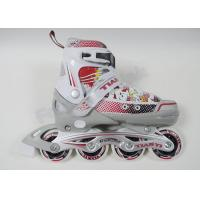 Wholesale 4 PU Wheels Custom Inline Skating Shoes Lightweight and Easy Control for Kids from china suppliers