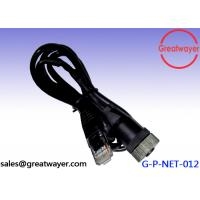 Wholesale 5 pin to female RJ45 Network Cable 24AWG 4 Pair Cable m12 connector from china suppliers