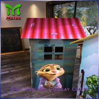 Wholesale DIY Paper Corrugated cardboard houses for kids cardboard box playhouse from china suppliers
