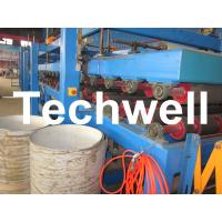 Wholesale Rock Wool Insulated Sandwich Panel Cold Roll Forming Machine 0 - 4.05 m / Min Speed from china suppliers