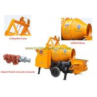 Wholesale Concrete Mobile Mixer Outlet Pressure 7Mpa Wireless Remote Control from china suppliers