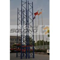Wholesale Double Sided Heavy Duty Warehouse Racks Customized 100kg - 150kg Capacity from china suppliers