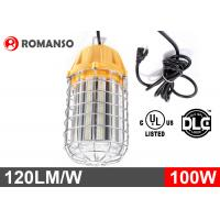 Quality High Lumen 360 Degree LED Bulb / 100 Watt Temporary Construction Lights 50-60Hz for sale