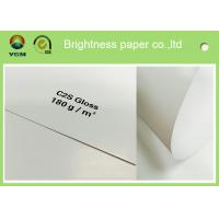 Wholesale Large Art Card Paper Glossy Coated , Art Board Paper For High Speed Sheet Fed Press from china suppliers