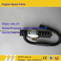 Wholesale original  flame-out solenoid valve , 13034654, for Weichai Deutz TD226B WP6G125E22, weichai engine parts for sale from china suppliers