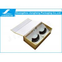 Wholesale White Cardboard Paper Eyelash Packaging Box , Book Shaped Gift Box from china suppliers