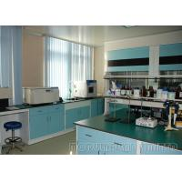 China White And Blue Lab Furniture For Schools / Science Lab Table Tops on sale