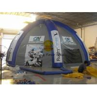 Wholesale PVC Tarpaulin Durable Inflatable Dome Tent 8*8*4m For Festivals from china suppliers