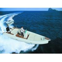 Wholesale Teak Floor Inflatable Rib Boat 7.3m Elegant Design With Fiberglass Hull from china suppliers