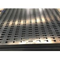 Wholesale 1.5mm Perforated Square Hole Galvanized Steel Sheet Metal Decorative Mesh from china suppliers