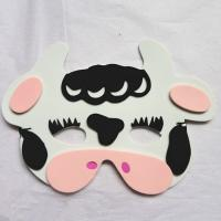 Wholesale Halloween Christmas Children Cartoon EVA Forest Animal Cows Mask from china suppliers