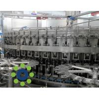 Wholesale 15KW Carbonated Soft Drink PET or Glass Bottle monoblock rinsing filling capping machine from china suppliers