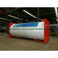 Wholesale Steel 20ft LPG Storage Tanks Container With Pump , LPG Skid Station ASME Certificate from china suppliers