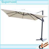 Wholesale Aluminum Outdoor Patio Furniture Parasol Roma Hanging Umbrella With Left - Right Shift Canopy from china suppliers