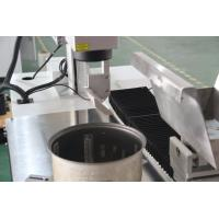 Quality Automatic Electric Rice Cooker Laser Marking Machine With Permanent Marker for sale