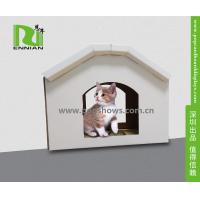 Wholesale Cuddly Stable Corrugated Cardboard Furniture Cat House Indoor Textured Surface Grinding Claws from china suppliers