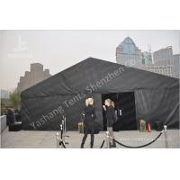 Buy cheap Durable 300 People Black Fabric Tent Structures , PVC Party Tent Marquee from wholesalers