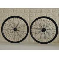 Wholesale T700 20 Inch Carbon BMX Wheels High Durability With Pillar / Sapim Spokes from china suppliers