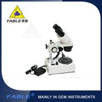 Wholesale Generation 1st Straight arm type Gem Microscope With F19 binocular lens from china suppliers