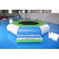 Wholesale Water Trampoline Combo , Inflatable Water Trampoline With Slide For Fun from china suppliers
