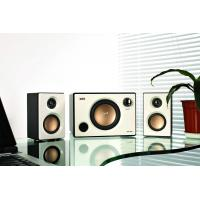 Wholesale White / Black 2.1 Multimedia Speaker System with USB SD Port and FM Remote Control from china suppliers