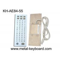 Wholesale Ruggedized 55 Keys Industrial Metal Keyboard , Metal Computer Keyboard from china suppliers