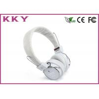 Wholesale Bluetooth Stereo Earphones White Color , Bluetooth Music Headphones BH05 from china suppliers
