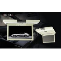 Wholesale Anti Shock Slim Car Flip Down Monitor With DVD Player Double Channels from china suppliers