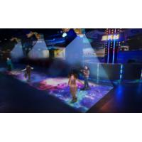 Magic Corridor Subject Floor Projection Games With Attractive Scene Design
