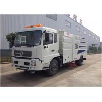 Wholesale RHD Dongfeng 4x2 Vacuum Sweeper Truck , 4000 Liters Road Cleaning Machine from china suppliers
