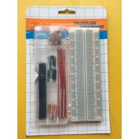 Wholesale ROHS 830 Tie Points Breadboard And 70 Pcs Flexible Jumper Wire Kit from china suppliers