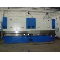 Quality CNC Hydraulic Tandem Press Brake , 200 T Sheet Metal Bender 8mm Thickness for sale