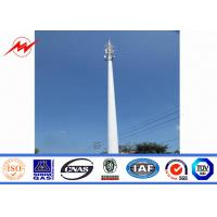 Wholesale Communication Distribution Mono Pole Tower Customized Tapered 90 FT - 100 FT from china suppliers