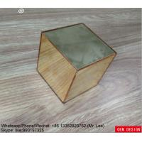 Wholesale Gold Color Custom Acrylic Products Mirror Square Box Plexiglass from china suppliers