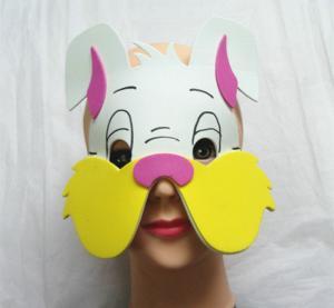 Wholesale Halloween Christmas Children Cartoon EVA Forest Animal Rabbit Mask from china suppliers