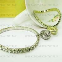 Wholesale Fashion Jewelry Alloy with Crystal Bangle/Bracelet Ljh0022 from china suppliers