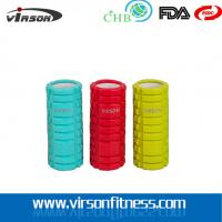 Quality Virson colourful grid massage hollow foam rollers.PVC .ABS.EVA  foam roller for sale